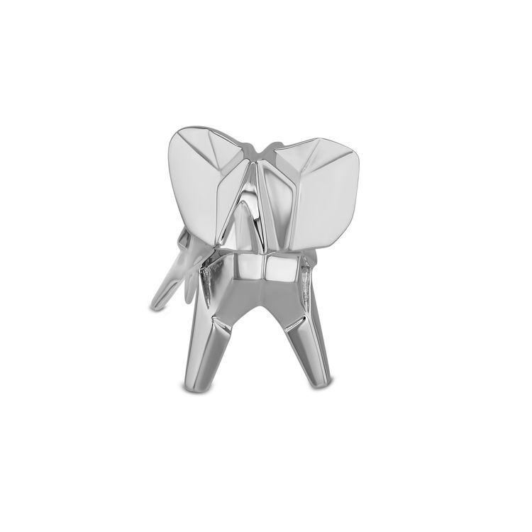 Nomi Sterling Silver Origami Elephant Sculpture