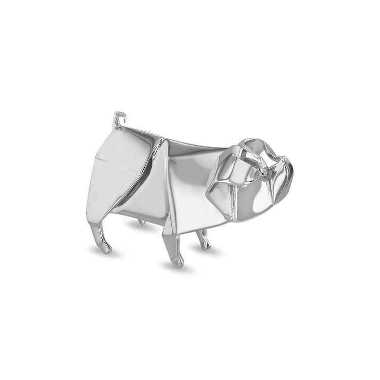 Nomi Sterling Silver Origami Pig Sculpture